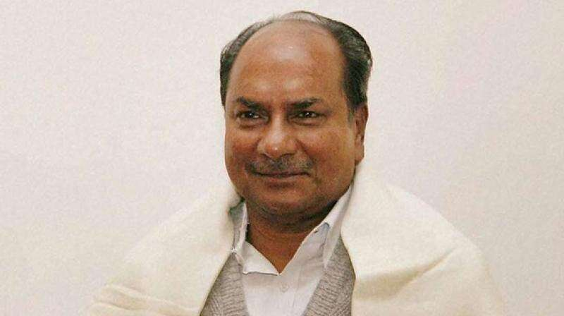 A.K. Antony, Indian defence minister, Covid-19 lockdown