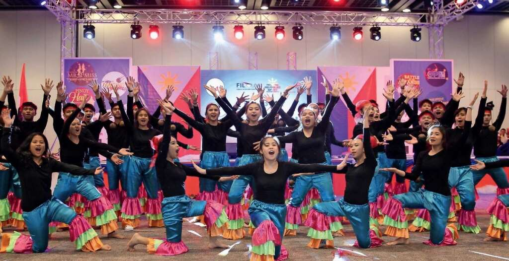Expats celebrate Philippine Independence Day at the Dubai World Trade Centre.— KT file photo