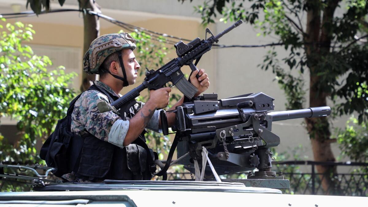 Lebanon: Deadly shooting rocks Beirut as tensions over blast probe erupt