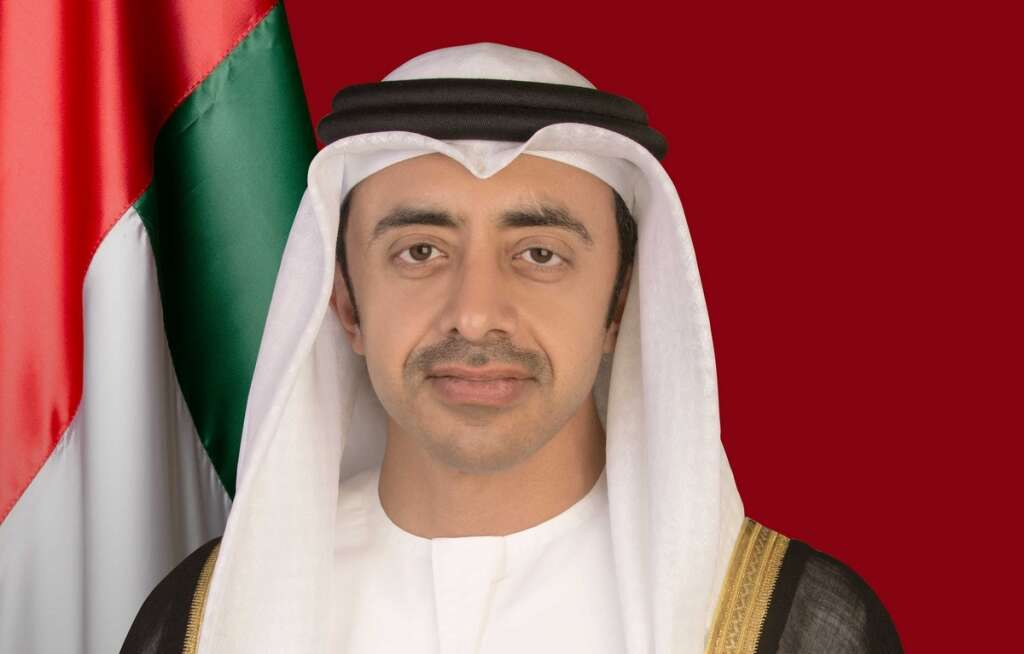 Sheikh Abdullah bin Zayed Al Nahyan, Minister of Foreign Affairs and International Cooperation and Chairman of the Education and Human Resources Council.- Wam