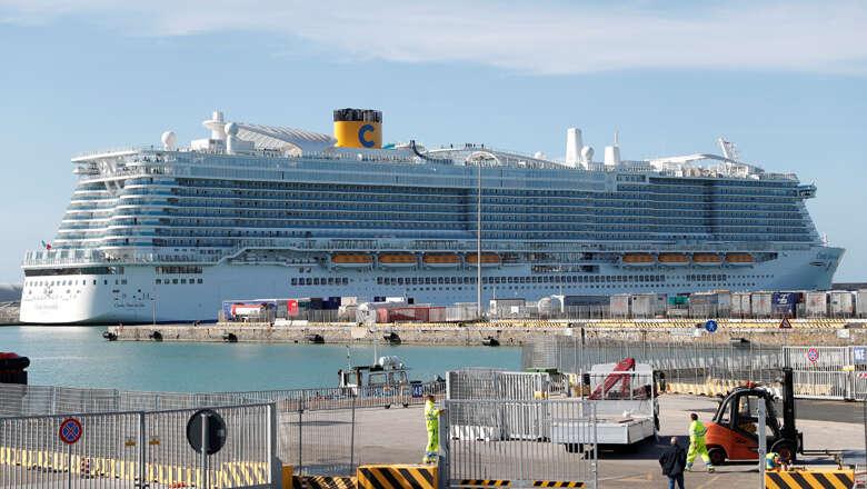 cruise ship, italy, wuhan, coronavirus, chinese, passengers, lockdown