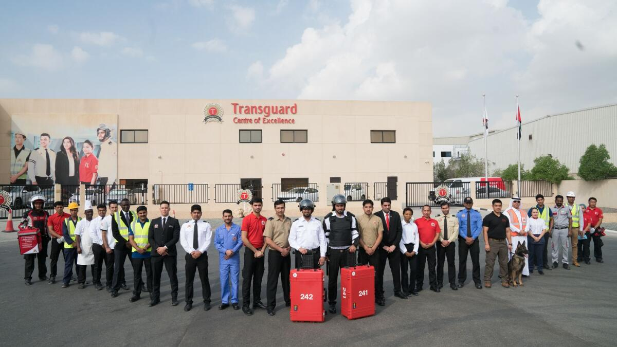 Open since 2017, Transguard's Centre of Excellence is at the heart of the company's holistic training programme, which has successfully cross-trained more than 35,000 employees in the last four years
