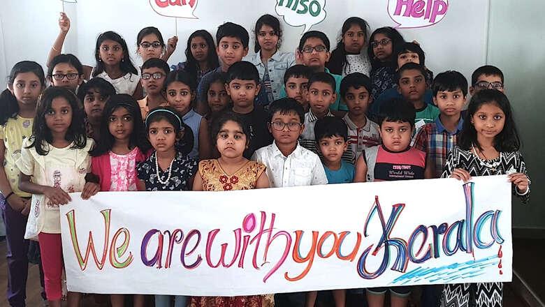 Image result for kerala flood helping childrens