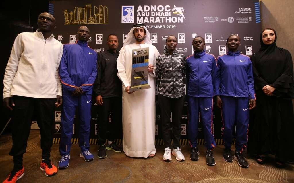 Battle lines drawn for Abu Dhabi Marathon