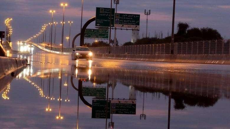 UAE weather, weekend thunder, rain