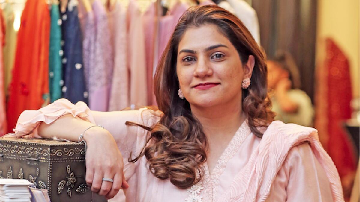 Ifsah Merchant showcases Pakistani culture through her pretty designs