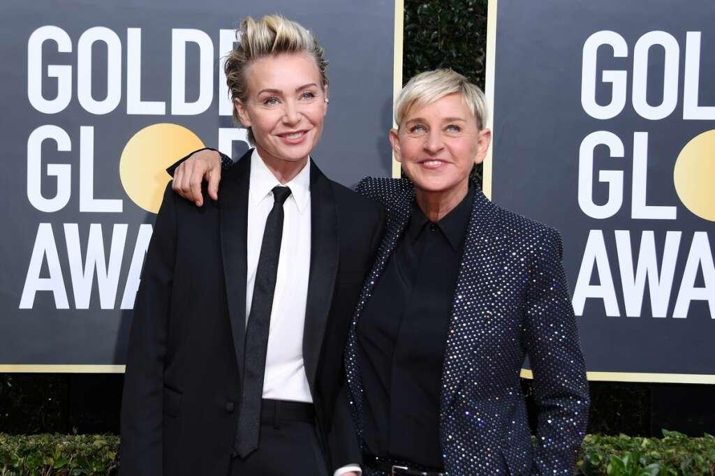 Portia de Rossi, Ellen DeGeneres, defend, talk show, host, racism, environment,