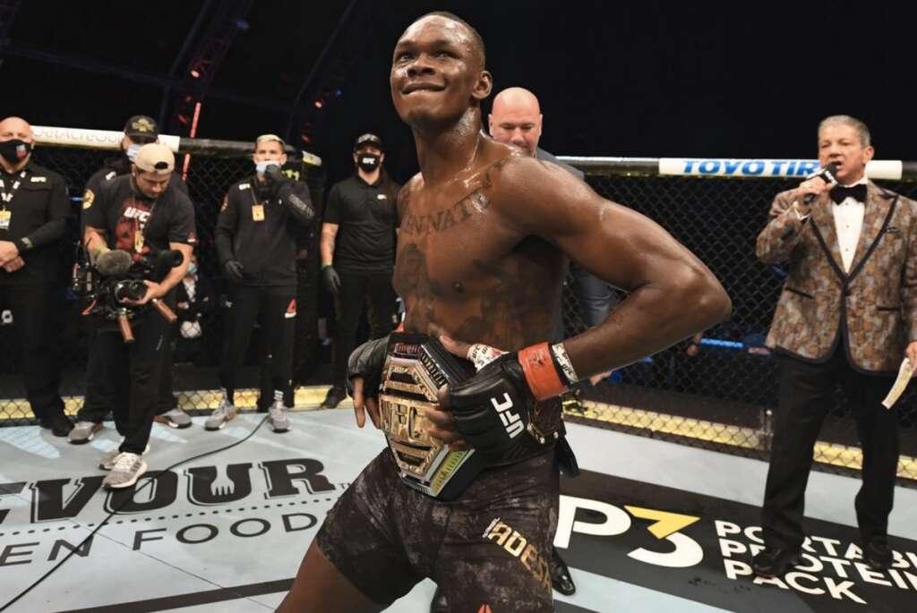 UFC 253 live, Adesanya