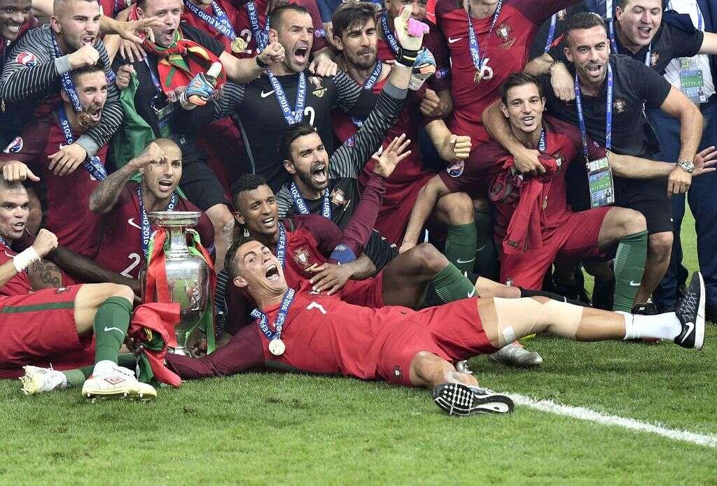 50 shades of Ronaldo in Euro 2016 Final