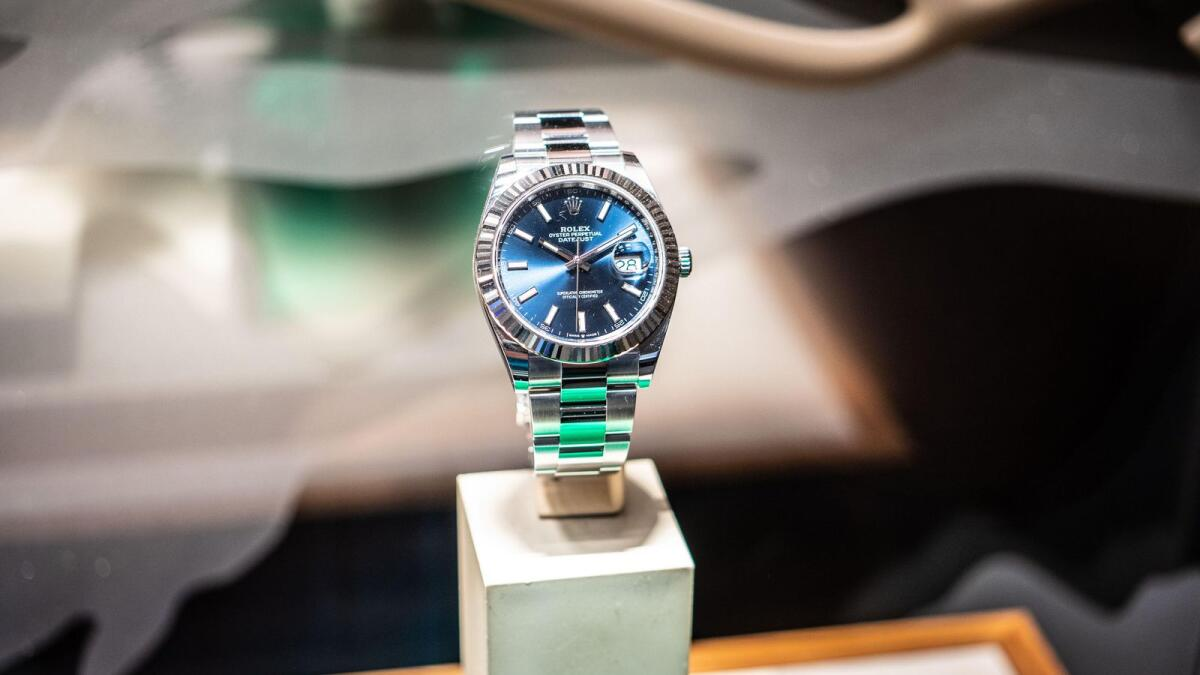 UAE: German man jailed for stealing Rolex watches worth Dh38,000