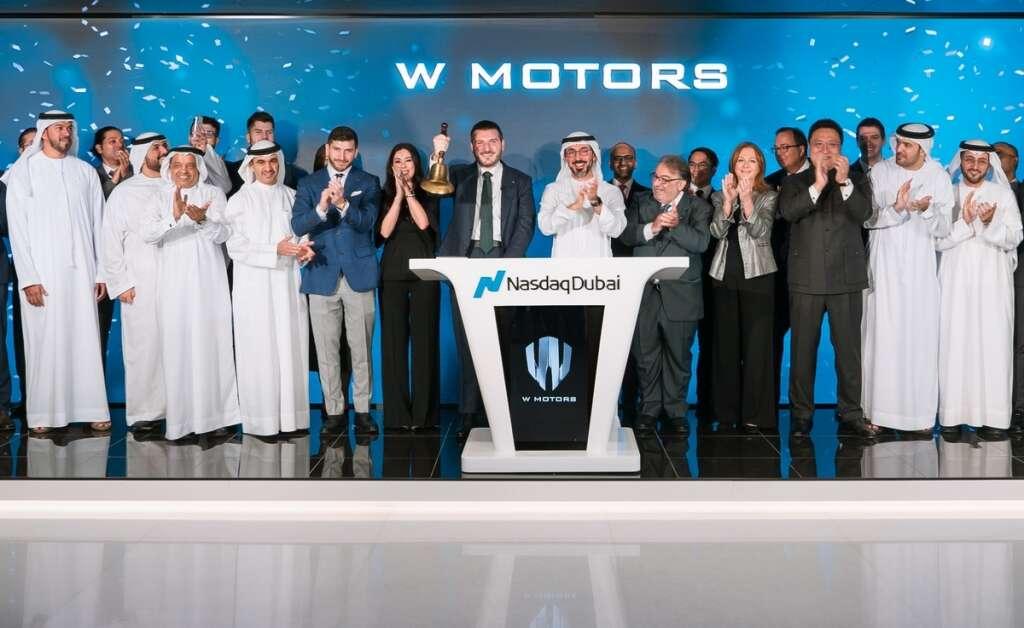 W Motors to deposit shares in Nasdaq Dubai CSD