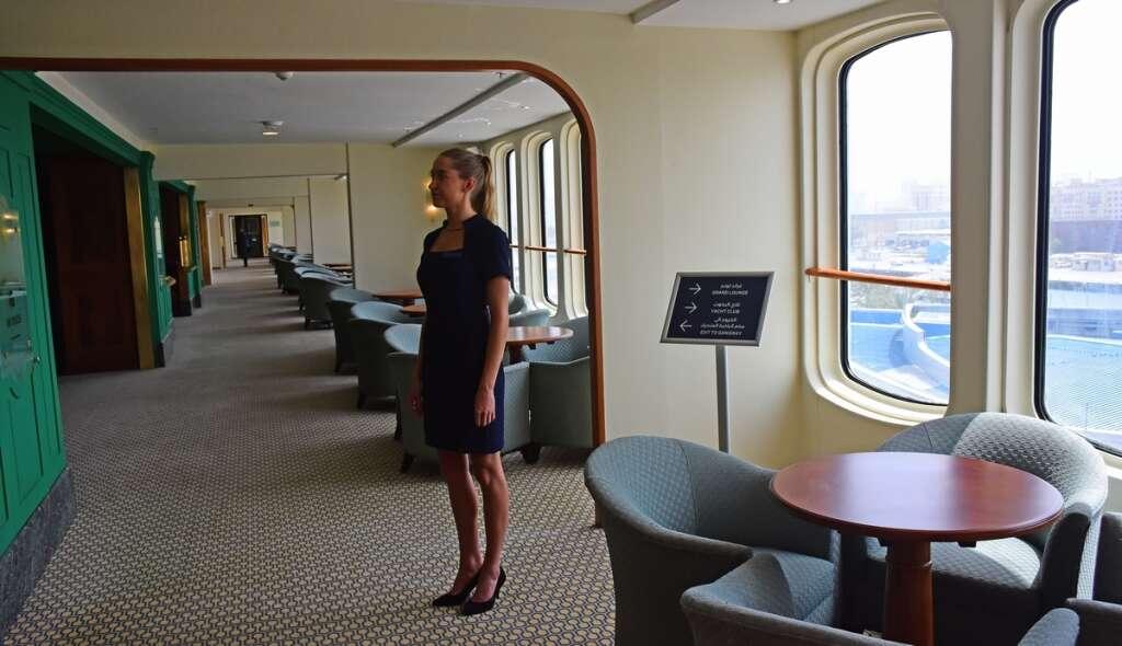 Video: A tour of Dubais floating hotel Queen Elizabeth 2