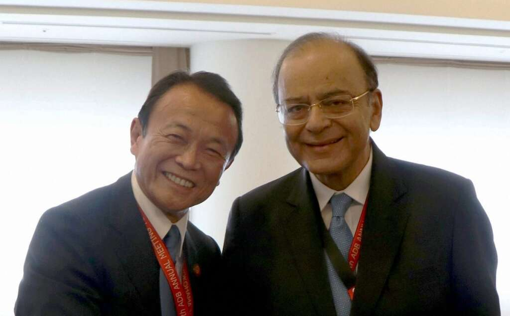 Jaitley urges ADB hub for South Asia in India