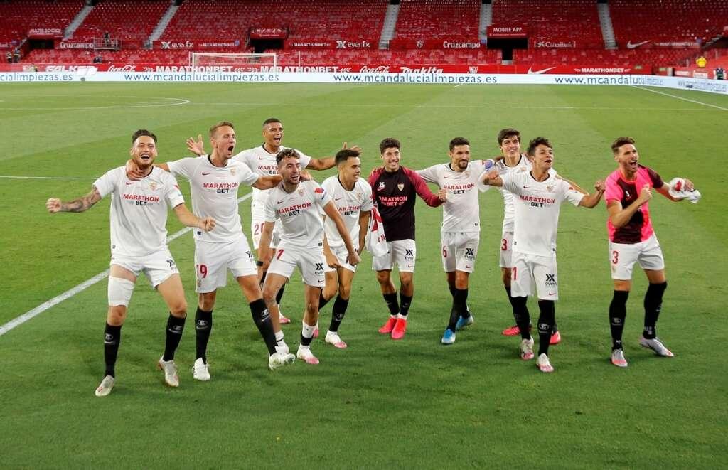 Sevilla, beat, Real Betis, La Liga, Spain, Ramon Sanchez Pizjuan, behind closed doors, coronavirus, Covid-19