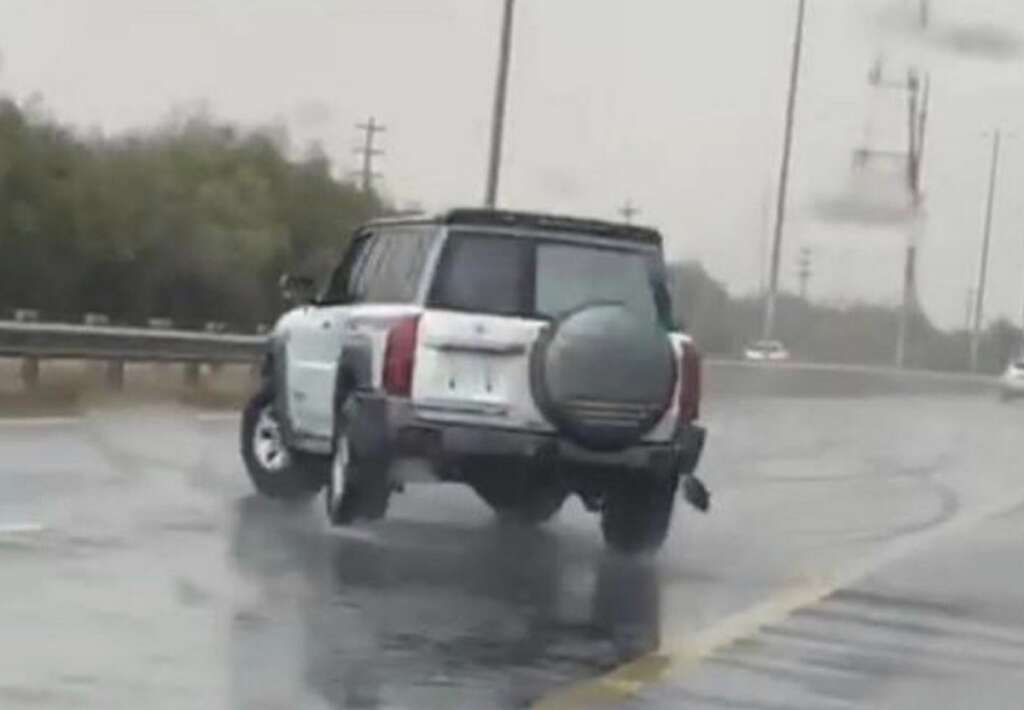 Driver, arrested, sharjah, crash, stunt driving, Eid, UAE