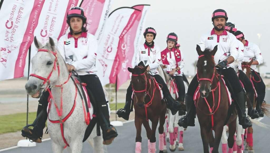 pink ride, screenings, ends