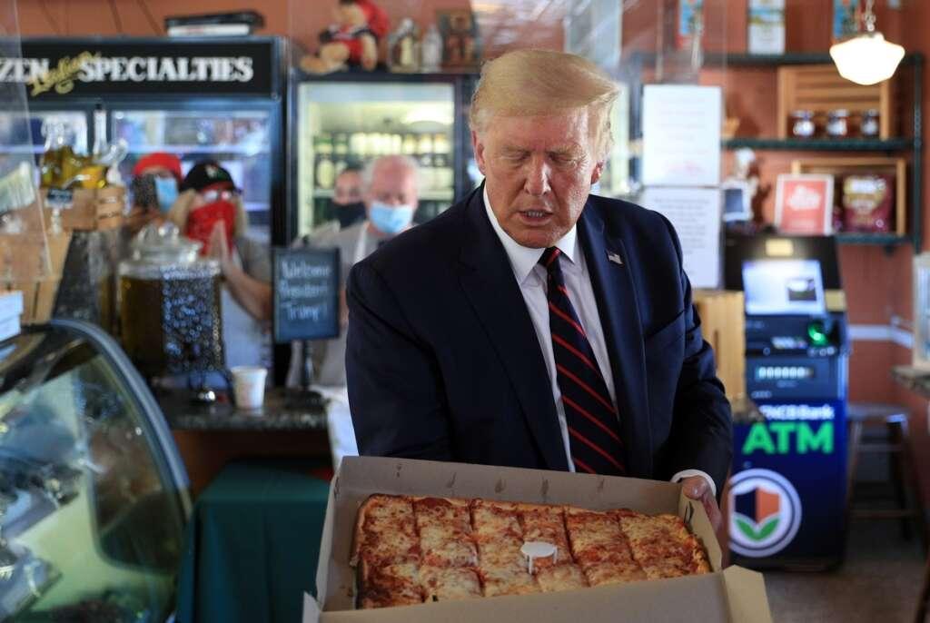 donald trump, joe biden, us voters, worst nightmare, old forge, pennsylvania