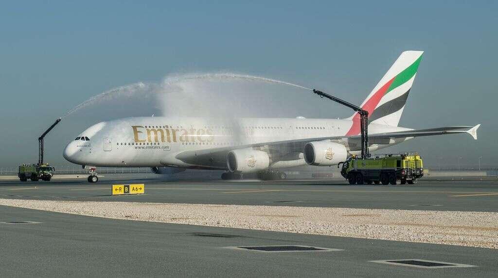 Video: Emirates A380 flies shortest journey of just 379km