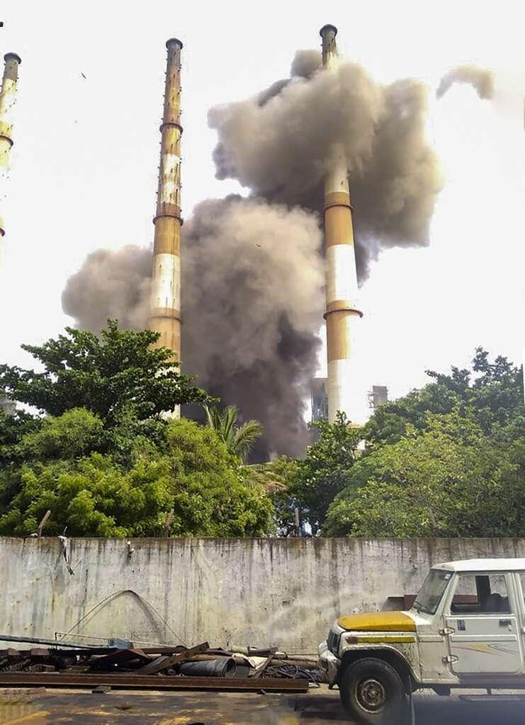 Power plant, , Fire