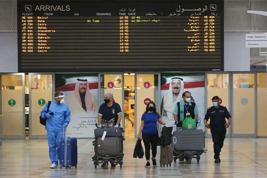 covid19, kuwait, coronavirus, flights, flights ban, high risk,