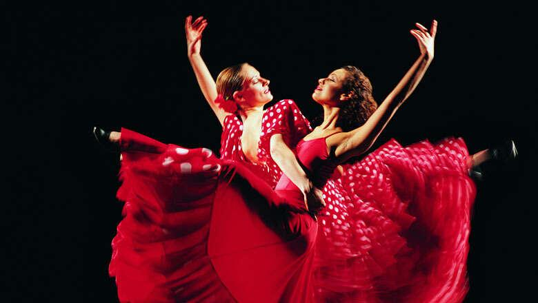 Spanish dancers pour their feelings into rhythmic feet