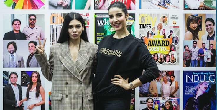 Hareem Farooq, Sara Loren, Pakistan International Screen Awards, Dubai