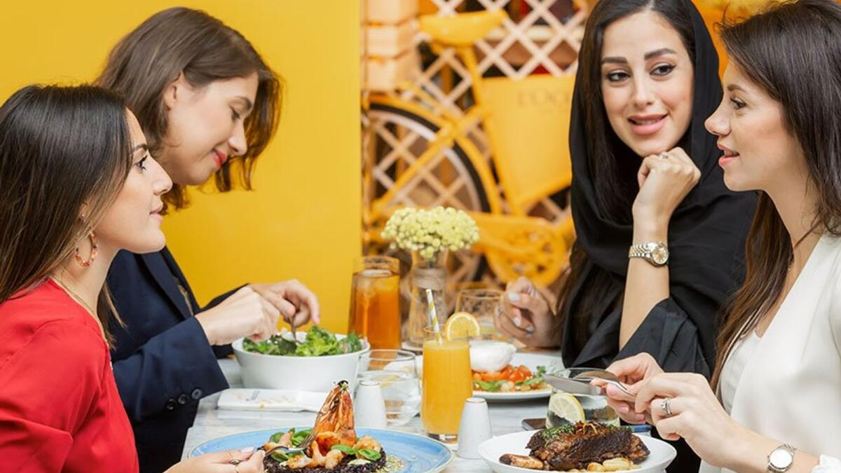 L'Occitane Café. Love homemade crêpes and signature bites? In France, serving afternoon tea dates back to the 18th century. At L'Occitane Café, this tradition is reinvented every weekday afternoon. Mini sandwiches, macarons or éclairs, there is something for every taste at Dh149 for two people.