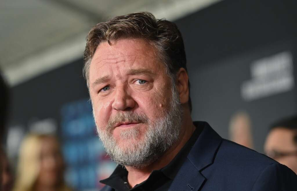 Hollywood star, Russell Crowe, Le Chef