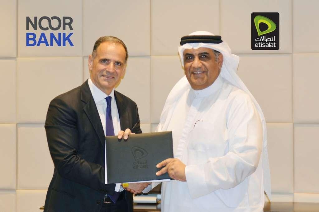 Etisalat, Noor Bank to offer mobile digital payment service