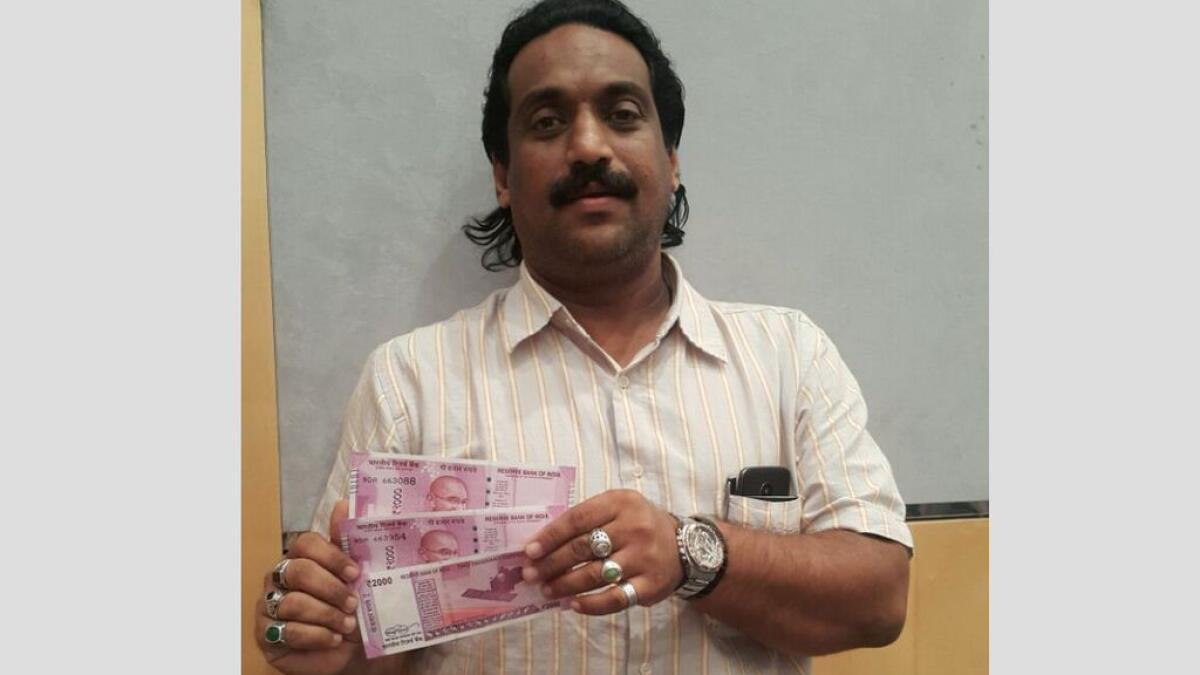 Dubai-based NRI gets Rs 2,000 notes worth Rs 160,000