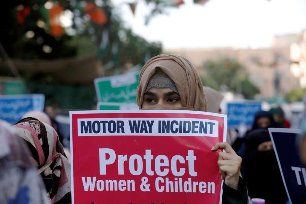 Pakistan, rape, protest