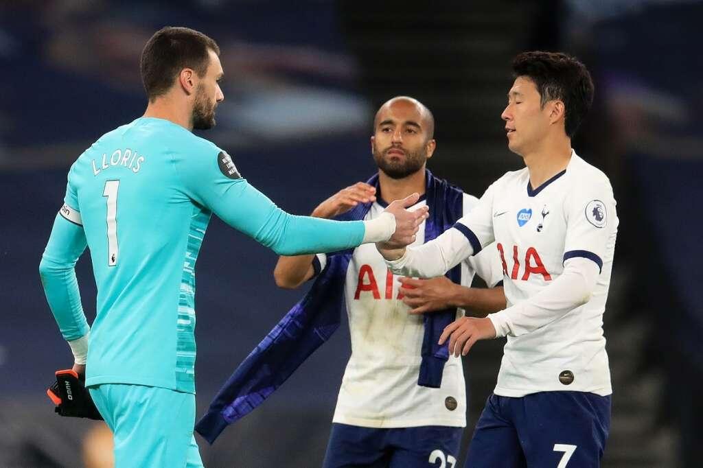 Hugp Lloris, Son Heung-min, Tottenham, Everton, Premier League