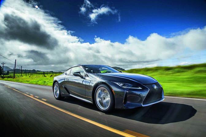 Review 2018 Lexus Lc 500h Khaleej Times