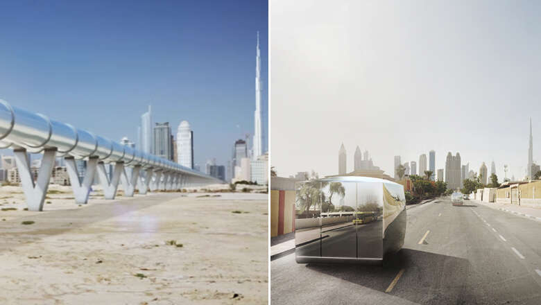 WATCH: Worlds FIRST Hyperloop will take you from Dubai-Abu Dhabi in 12 minutes, RTA signs deal