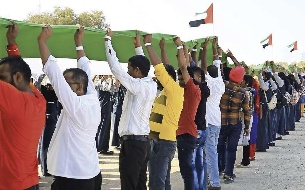 longest flag in Dubai, UAE flag, Guinness world record