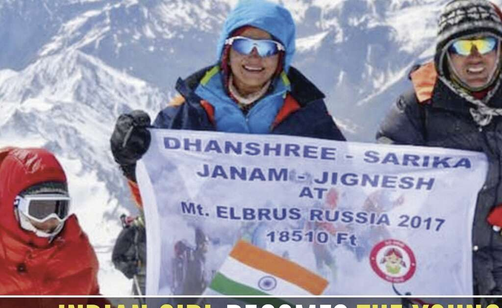 9-year-old becomes the youngest girl to scale Mount Elbrus