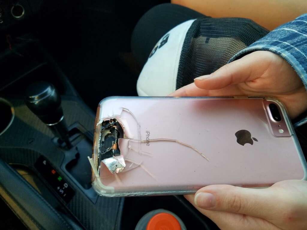 Womans iPhone saves her from Vegas gunmans bullet