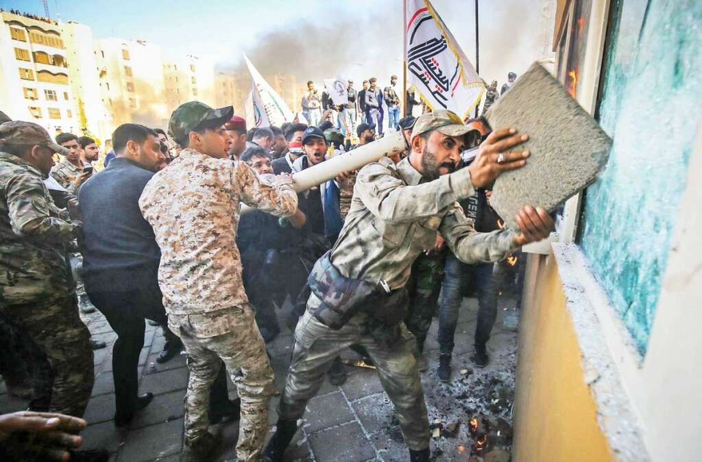 Embassy attack, US, moves, troops, Iran, US Marines, US Embassy in Iraq,