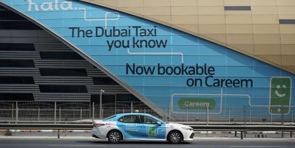 rta, taxi, hala, booking, january 15, bookings, dubai taxi