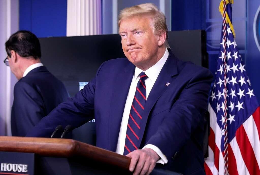 President Donald Trump, coronavirus, Covid-19