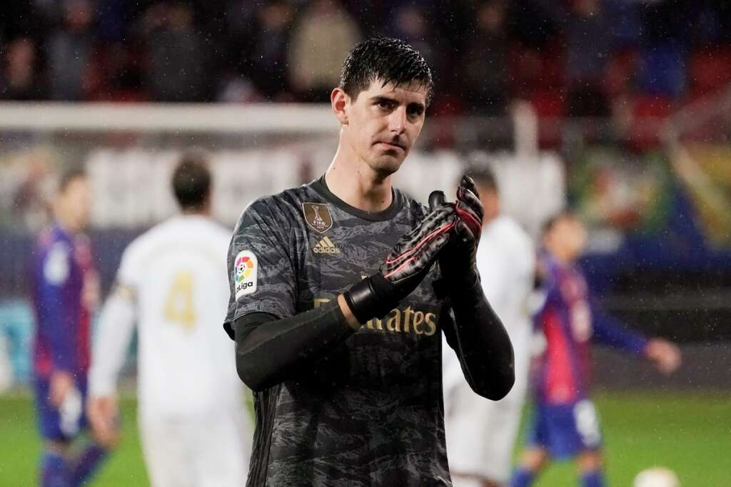 Courtois says he is among worlds best keepers
