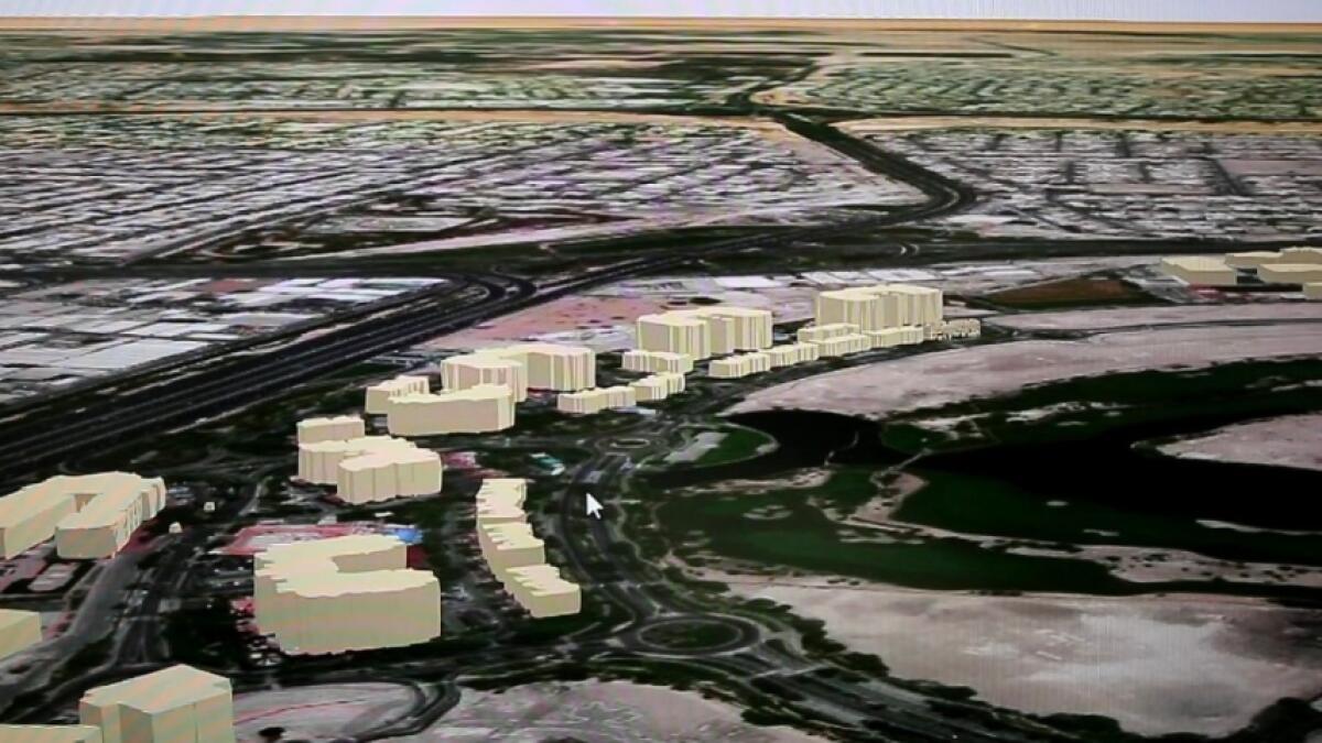 Dubai Here, digital replica, dubai municipality