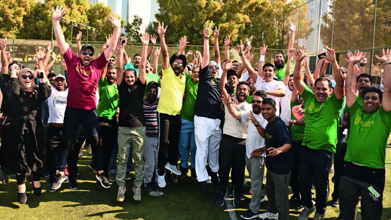 galadari, cricket, fitness, dubai fitness challenge
