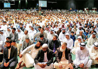 Islam is key to peace, convention concludes