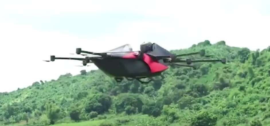 Video: Filipino inventor takes 'flying car' for successful test flight