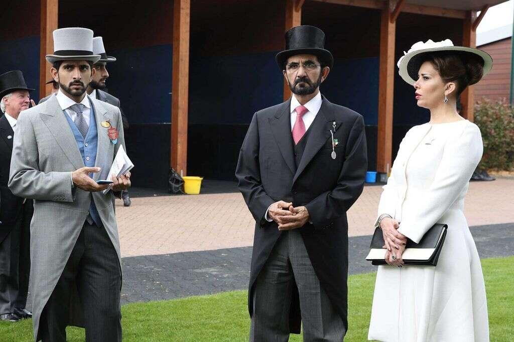 Shaikh Mohammed attends Epsom Derby