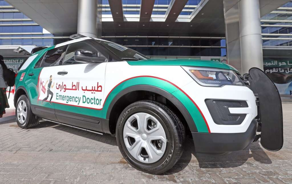 New emergency response car in Dubai can reach you in 6 minutes