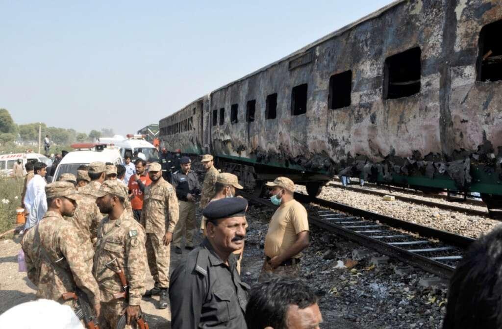 Pakistan train fire, Survivors, Pakistan