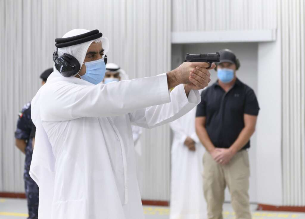Video, Sheikh Saif, UAE, police, forces, action
