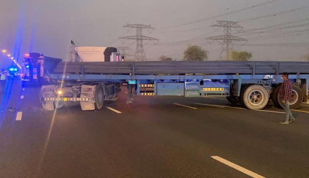 Dubai traffic accident